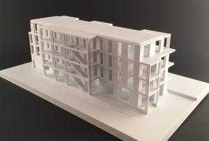 Wohnhaus 3D gedruckt